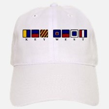 Nautical Key West Baseball Baseball Cap