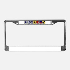 Sanibel Island License Plate Frame