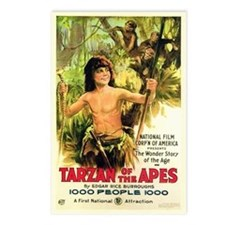 Young Tarzan Postcards (Package of 8)