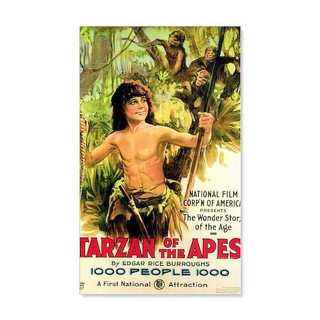 Young Tarzan 38.5 x 24.5 Wall Peel