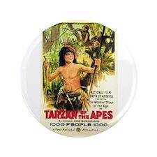 "Young Tarzan 3.5"" Button"