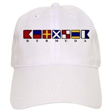 Nautical Bermuda Baseball Cap