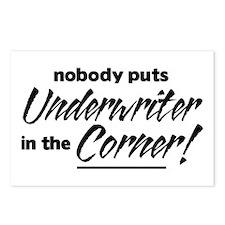 Underwriter Nobody Corner Postcards (Package of 8)