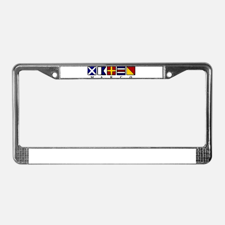 Marco Island License Plate Frame
