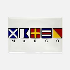 Marco Island Rectangle Magnet (10 pack)