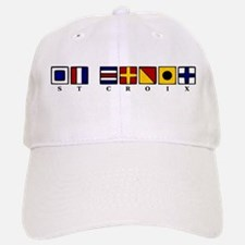 Nautical St. Croix Baseball Baseball Cap