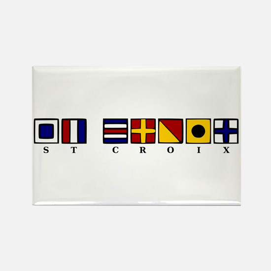 Nautical St. Croix Rectangle Magnet