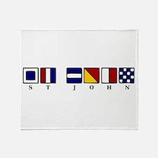 St. John Throw Blanket