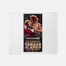 Adult Tarzan Throw Blanket