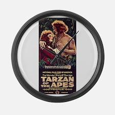 Adult Tarzan Large Wall Clock