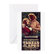 Adult Tarzan Greeting Card