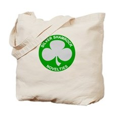 Silver Shamrock Novelties Tote Bag