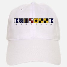 Nautical Anguilla Baseball Baseball Cap