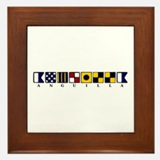 Nautical Anguilla Framed Tile