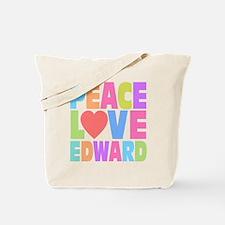 Peace Heart Edward Tote Bag