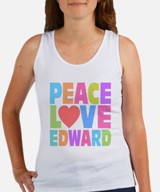 Peace Heart Edward Women's Tank Top