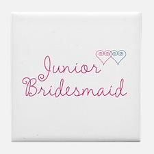 Wedding Set 1 Aunt of Bride Tile Coaster