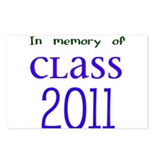 In Memory of Class 2011 Postcards (Package of 8)