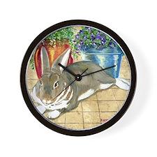 Jenna's Rabbit Wall Clock