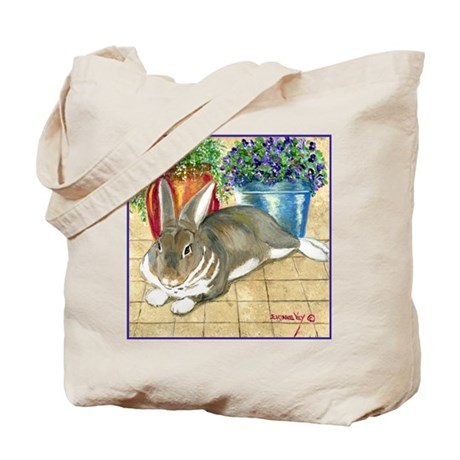 Jenna's Rabbit Tote Bag