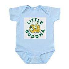 Little Buddha Yoga Symbol Infant Bodysuit Kiwi