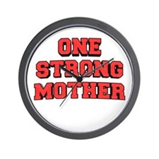 One Strong Mother Wall Clock