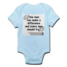 Jackie Difference Quote Infant Bodysuit