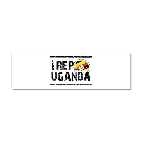 I rep Uganda Car Magnet 10 x 3