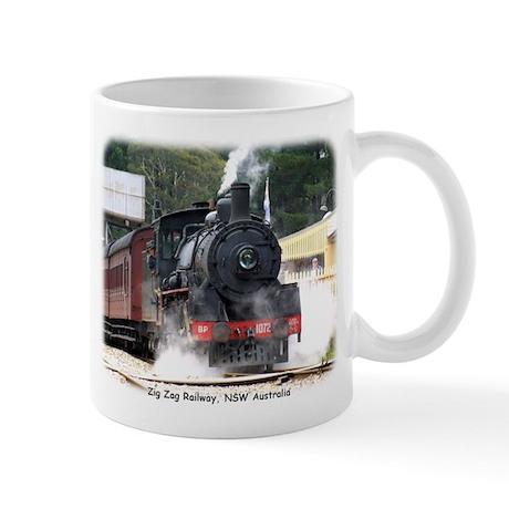 Zig Zag Steam Loco 1072 9J53D-22 Mug