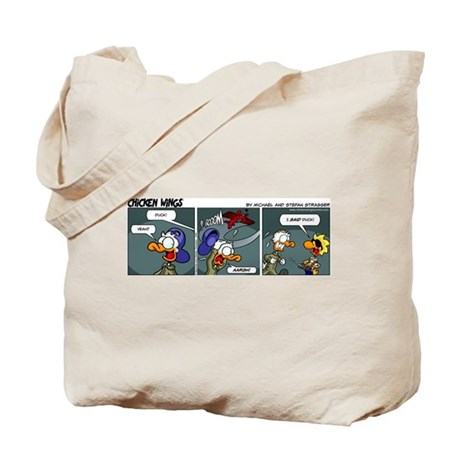 0248 - Duck! Tote Bag