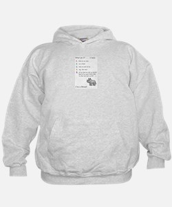 What am I? . . . Hoodie