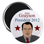 Alan Grayson for President political magnet