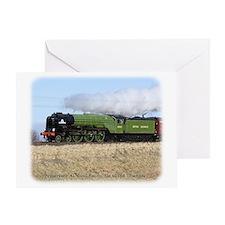 A1 Steam Loco Tornado 9Y487D-105 Greeting Card