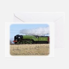 A1 Steam Loco Tornado 9Y487D-105 Greeting Cards (P
