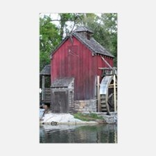 ...Watermill... Rectangle Decal