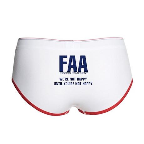 FAA - Mission Statement Women's Boy Brief