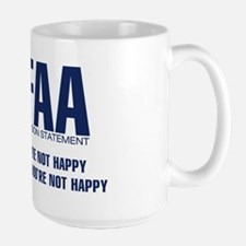 FAA - Mission Statement Large Mug