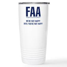 FAA - Mission Statement Travel Mug