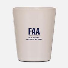FAA - Mission Statement Shot Glass