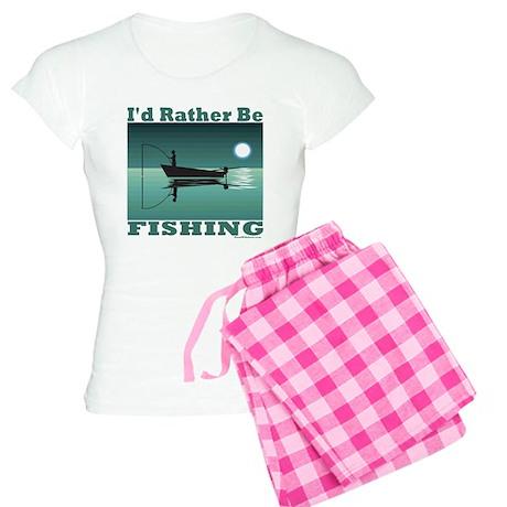 I'd Rather Be Fishing Women's Light Pajamas