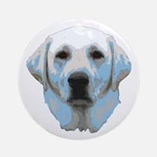 Lab Portrait Ornament (Round)