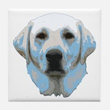 Lab Portrait Tile Coaster