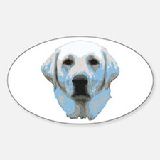 Lab Portrait Sticker (Oval)