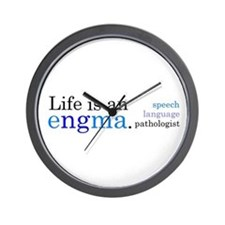 Life is an engma Wall Clock