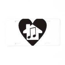 Cute Hops Aluminum License Plate
