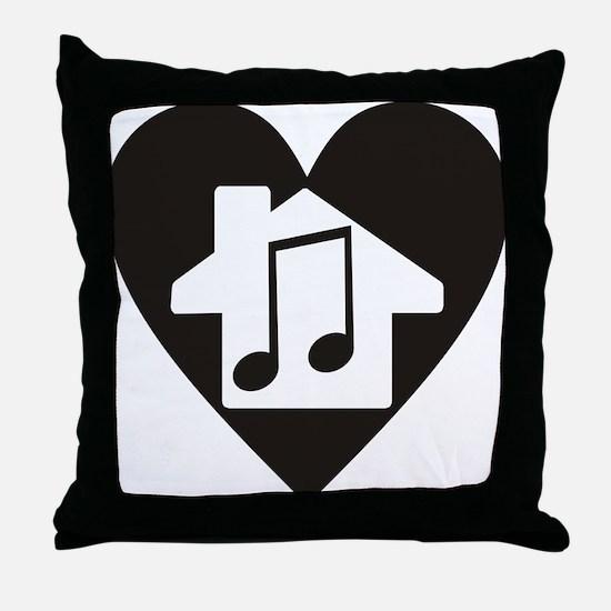 Cute Techno Throw Pillow