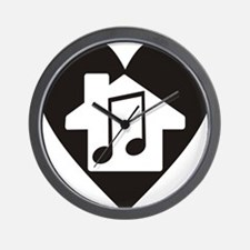 Funny House music Wall Clock