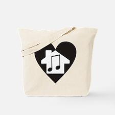 Unique House music Tote Bag
