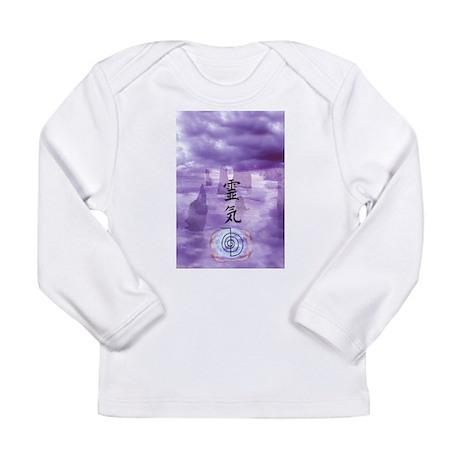 Reiki Art Long Sleeve Infant T-Shirt