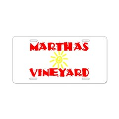 MARTHAS VINEYARD Aluminum License Plate